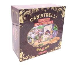 "ASSORTIMENT DE CANISTRELLI -COFFRET DECOR ""FOUR A CANISTRELLI"""