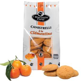 BISCUTTINI WITH CLEMENTINE - 350 gr